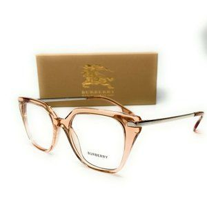 Burberry Transparent Peach 50mm Glasses